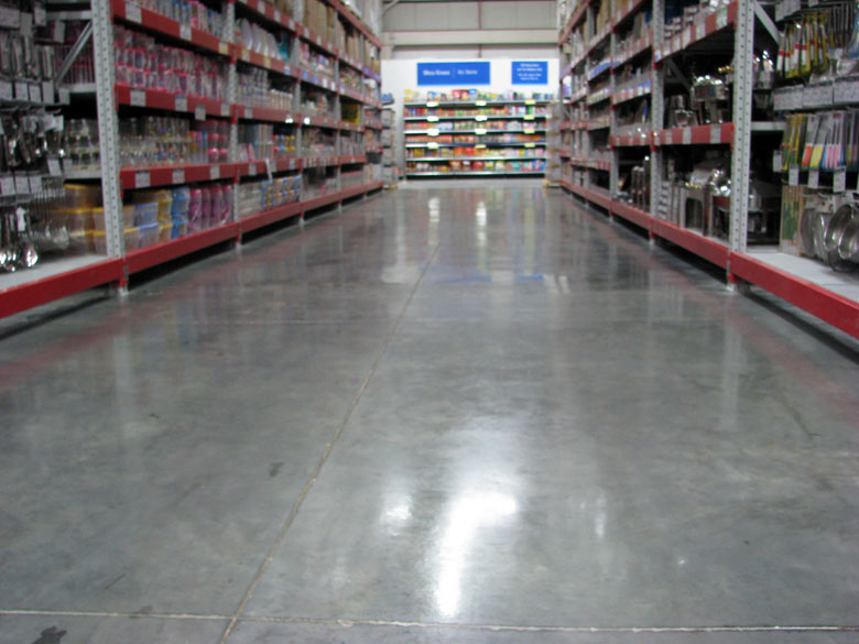Trimix Flooring Services : Concrete flooring with laser screed technique tremix